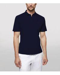 Sease Crew Polo Shirt - Blue
