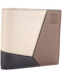 Loewe - Bi-fold Puzzle Wallet - Lyst