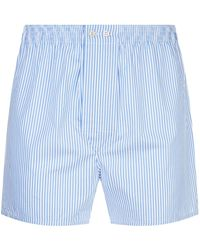 Derek Rose - James Stripe Boxer Shorts - Lyst