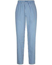 Calvin Klein - Pinstripe Lounge Trousers - Lyst