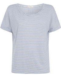 Eberjey - Georgie Basic Stripe T-shirt - Lyst