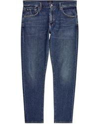 Citizens of Humanity Slim Mid-wash Jeans - Blue