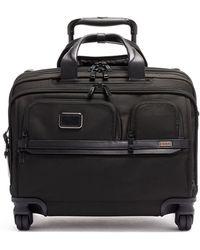 Tumi Deluxe Wheeled Laptop Case - Black