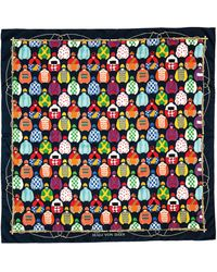 Halcyon Days Racing Print Silk Scarf - Multicolour