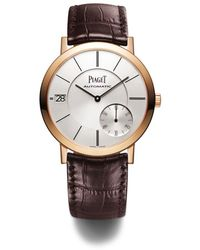 Piaget Rose Gold Altiplano Automatic Watch 40mm - Metallic