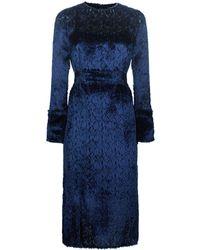 Akris - Silk Textured Dress - Lyst
