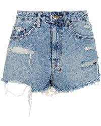 Ksubi - Clas-sick Distressed Shorts - Lyst