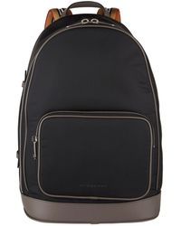 Burberry - Heritage Stripe Detail Backpack - Lyst