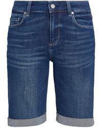 PAIGE Jax Knee-length Shorts - Blue