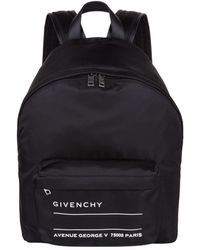 Givenchy - Address Label Backpack - Lyst