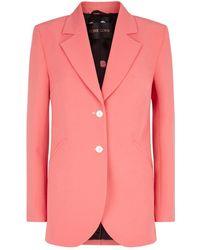 Stine Goya Florence Single-breasted Blazer - Pink
