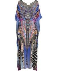 Camilla - Embellished Love On The Wing Kaftan Dress - Lyst