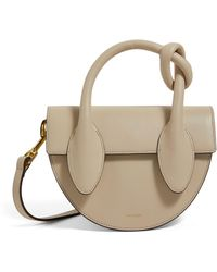 Yuzefi Leather Dolores Knot Bag - White