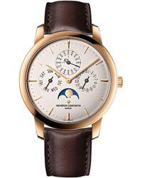 Vacheron Constantin Rose Gold Patrimony Perpetual Calendar Ultra-thin Watch 41mm - Metallic
