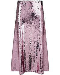 Vivetta - Millet Sequin Midi Skirt - Lyst
