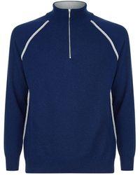 Harrods - Half-zip Sweater - Lyst