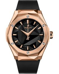 Hublot Rose Gold Classic Fusion Orlinski Watch 40mm - Black