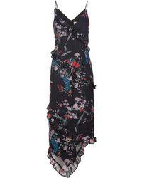 Keepsake - Paperthin Floral Midi Dress - Lyst