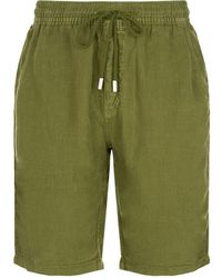 Vilebrequin - Bahamas Linen Sweat Shorts - Lyst