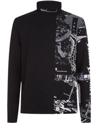 Blood Brother - Funnel Neck Sweater - Lyst