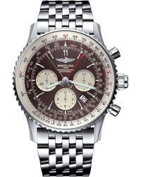 Breitling - Navitimer Rattrapante Automatic Chronograph Watch 45mm - Lyst