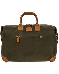 """Bric's Life 22"""" Carry-on Holdall - Green"""