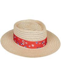 Claudie Pierlot - Floral Band Trilby Hat - Lyst