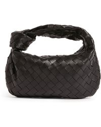 Bottega Veneta Mini Bv Jodie Hobo Bag - Black