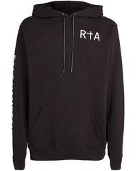 RTA Slogan Hoodie - Black