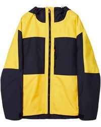 Loewe Hooded Colour-block Parka - Yellow
