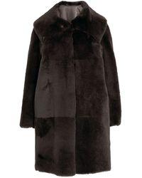 Marina Rinaldi Ovine Eden Coat - Blue