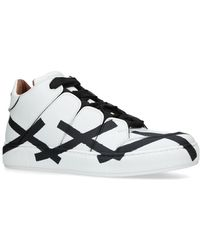 Ermenegildo Zegna Cross Midtop Sneakers - White