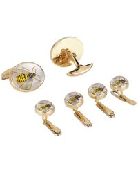 Deakin & Francis - Wasp Cufflinks And Dress Studs Set - Lyst