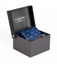 Harrods - Floral Tie And Cufflinks Set - Lyst