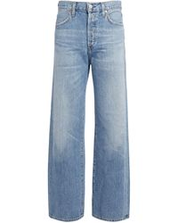 Citizens of Humanity Flavie Wide-leg Jeans - Blue