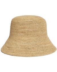 Lack of Color Raffia Inca Bucket Hat - Natural