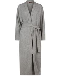 Oyuna Legere Cashmere Dressing Gown - Gray