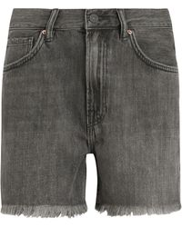 AllSaints Yanni Denim Shorts - Black