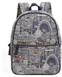 Harrods Landmarks Backpack - Blue