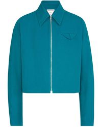 Bottega Veneta - Cotton Zip-up Jacket - Lyst
