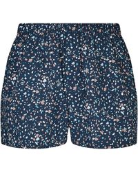 Sunspel - Printed Cotton Boxer Shorts - Lyst