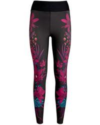 Ultracor Bouquet High-waist Leggings - Multicolor