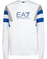 Armani - Panelled Sweater - Lyst