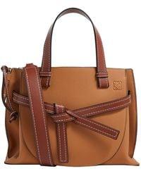 Loewe - Small Gate Top Handle Bag - Lyst
