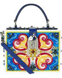 Dolce & Gabbana - Mambo Plexiglass Top Handle Bag - Lyst
