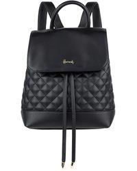 Harrods Chelsea Backpack - Black