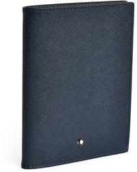 Montblanc - Leather Sartorial Passport Holder - Lyst
