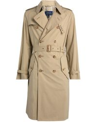 Ralph Lauren Belted Trench Coat - Natural
