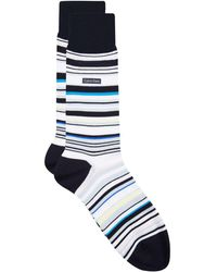Calvin Klein - Barcode Stripe Socks - Lyst