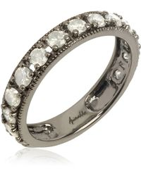 Annoushka - White Gold Dusty Diamonds Eternity Ring - Lyst